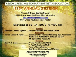 Reedy Creek 2017 Annual