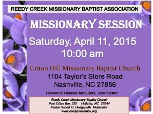 Missionary Session