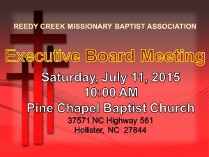 executive meeting july